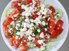 Bulgarischer Schopska - Salat - Rezept