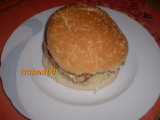 Gyrosburger - Rezept