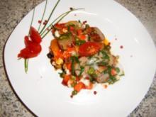 Kartoffel-Gemüse -Wurst-Ei-Pfanne - Rezept