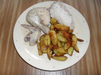 Hähnchen in Salzkruste - Rezept