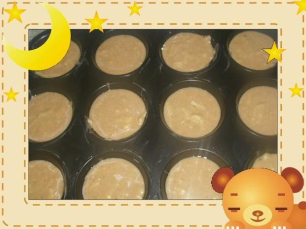 Bananen-Apfel-Muffins - Rezept - Bild Nr. 2