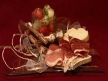 Geeister Melonensalat mit Parmaschinken (Judith & Mel) - Rezept