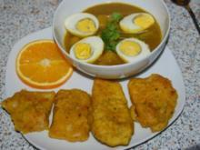 Indisches Eier-Kartoffel-Curry... - Rezept