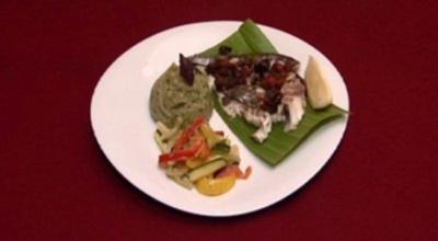 Dorade mit Pestopüree und einer Gemüsevariation (Ramona Drews) - Rezept