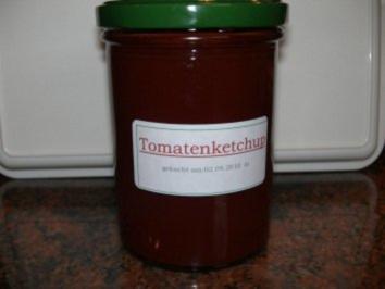 Sauce:   TOMATENKETCHUP - Rezept