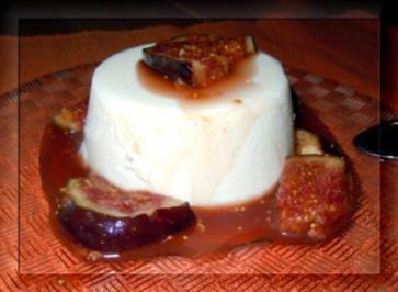 Honig-Limettenmousse mit Portweinfeigen - Rezept