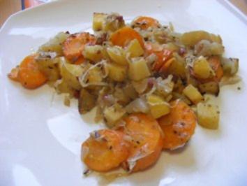 Sauerkraut-Kartoffel-Auflauf - Rezept