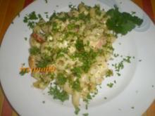 Cellentani mit Kasseler und Käse - Rezept