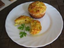 Käse-Zucchini-Muffins - Rezept