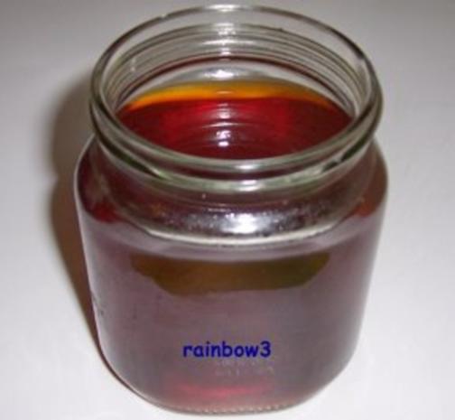 Sirup: Karamell - Rezept