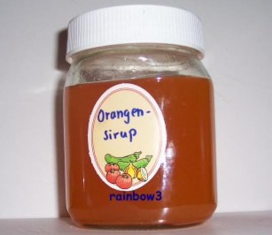 Sirup: Frucht - Rezept