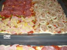 Hefe:    PIZZA - QUARTETT - Rezept