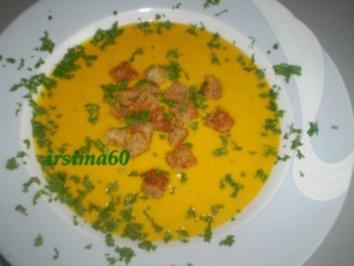 Rezept: Kürbiscreme Suppe