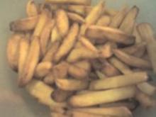 Pommes Frittes selbstgemacht, außen kunisprig, innen weich - Rezept