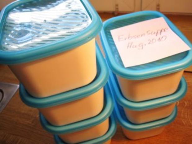 Erbsensuppe zum Einfrieren .... - Rezept - Bild Nr. 9