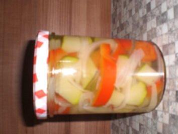 Rezept: Zucchini Eingekocht
