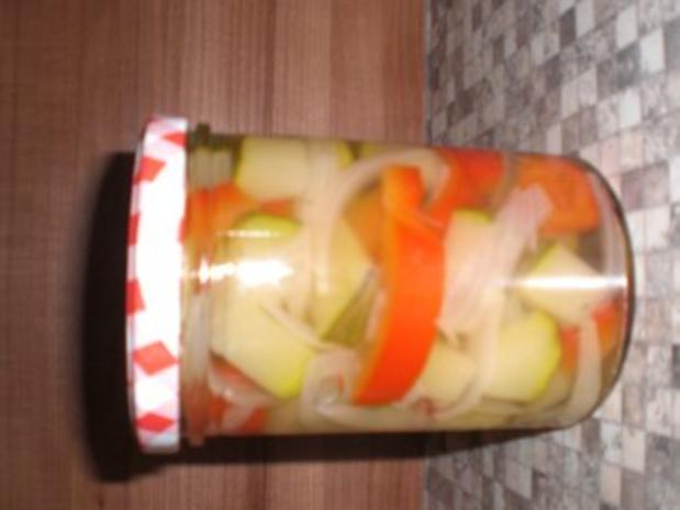 Zucchini Eingekocht - Rezept