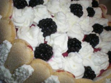 Brombeer Torte - Rezept