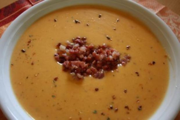 Scharfe Zucchini-Creme-Suppe - Rezept - Bild Nr. 4