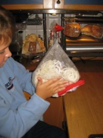 Koteletts mit Zwiebelhaube -Pupsessen - Rezept - Bild Nr. 7