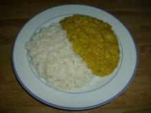 Sahne-Curry-Linsen - Rezept