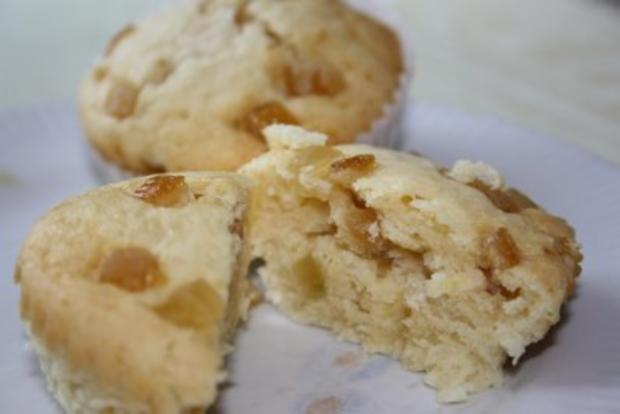 Muffins: Muffins mit Amaretto-Citrusfrüchten - Rezept
