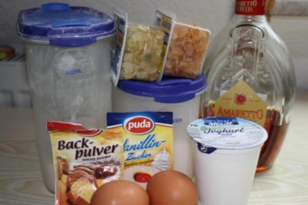 Muffins: Muffins mit Amaretto-Citrusfrüchten - Rezept - Bild Nr. 2