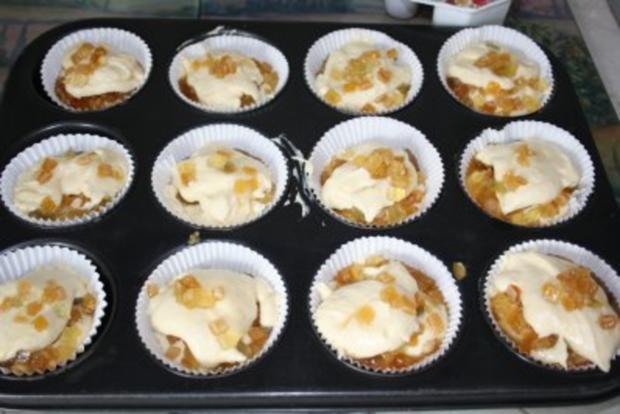 Muffins: Muffins mit Amaretto-Citrusfrüchten - Rezept - Bild Nr. 4