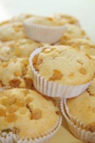 Muffins: Muffins mit Amaretto-Citrusfrüchten - Rezept - Bild Nr. 5