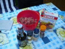 Dunkelbierbuletten für Grill und Pfanne - Rezept