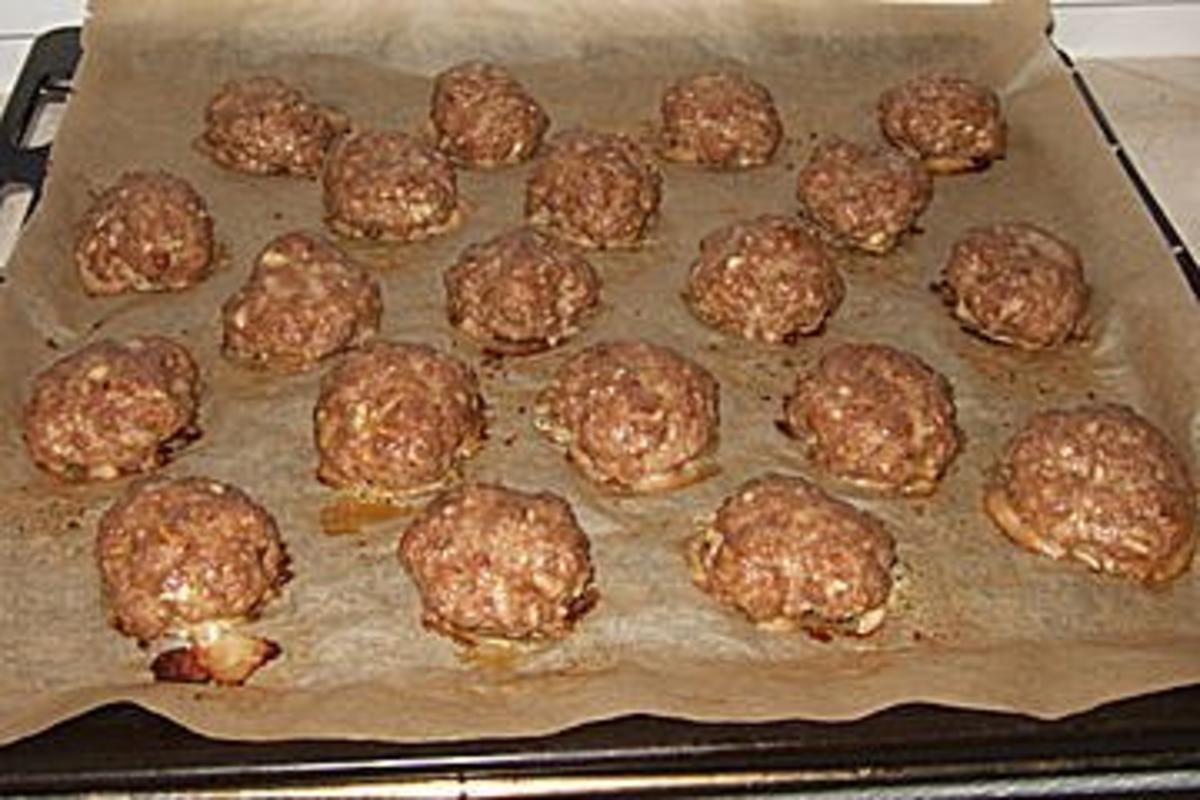 Ofenfrikadellen schnell gemacht und gut zum kalt essen for Kochen schnell und gut