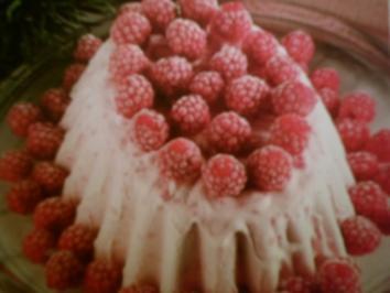 Rezept: Vanille-Parfait mit Himbeeren