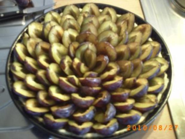 Kuchen: Zwetschgenwähe - mit Bild - Rezept - Bild Nr. 3