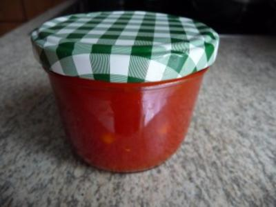 Eingemachtes : Ketchup selbstgemacht - Rezept