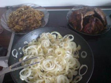 mittelalterliches Zwiebelfleisch - Rezept