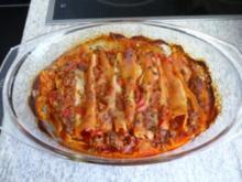 Aufläufe : Cannelloni gefüllt - Rezept