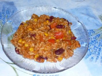 Chili Con Carne Reis nach Maikes Art - Rezept