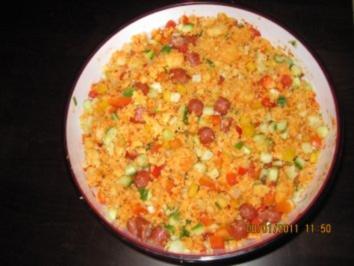 Couscous Salat - Rezept