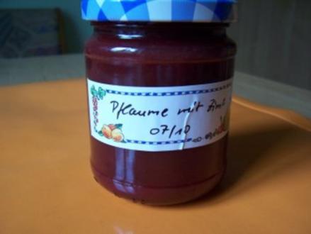 Pflaumenmarmelade - Rezept