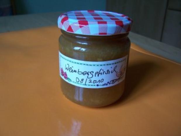 Weinbergpfirsichmarmelade - Rezept