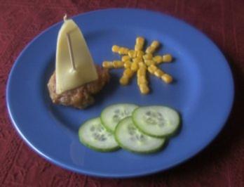 Rezepte für Kinder 2 : Schnitzel für kleine Piraten - Rezept