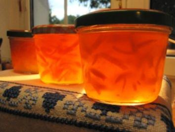 Marmelade aus Zitronen und Orangen ... - Rezept