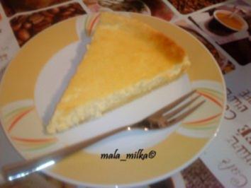 Rezept: Einfache Zitronen - Käse - Tarte