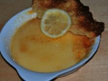 Gebrannte Katalanische Crème mit Chili und Zitronen-Tuiles - Rezept