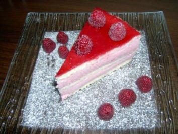 Himbeer-joghurt-torte - Rezept