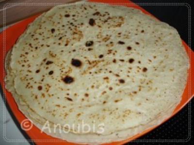 Brot/Brötchen - Tortilla Wraps - Rezept