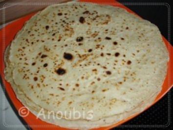 Rezept: Brot/Brötchen - Tortilla Wraps