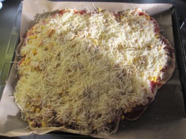 "Pizza ""ohne Hefe"" - Rezept - Bild Nr. 5"