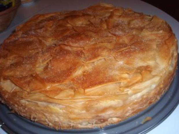 Torte: Gedeckte Apfel - Pudding - Torte - Rezept - Bild Nr. 8