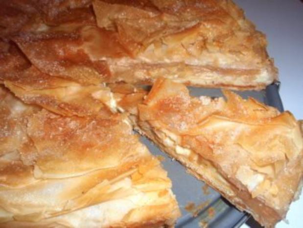 Torte: Gedeckte Apfel - Pudding - Torte - Rezept - Bild Nr. 9